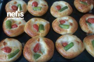 Minik Pizza Poğaçalar Tarifi