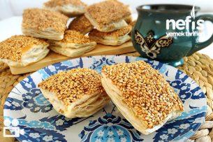 Susamlı Çıtır Milföy Börek Videosu Tarifi
