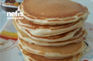 Buttermilk Pancake (Yaptığım En İyi Pancake) Tarifi