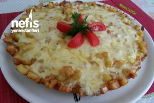 Kaşarlı Yumurtalı Patates Omleti Tarifi