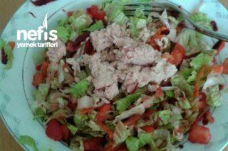 Light Ton Balıklı Salatam Tarifi