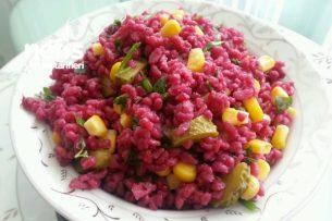 Şalgamlı Bulgur Salatası (Renkli Kısır) Tarifi
