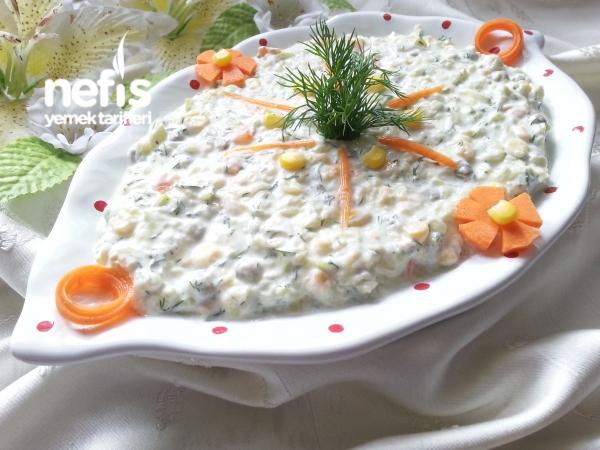 Yedikçe Yedirten Kabak Salatası