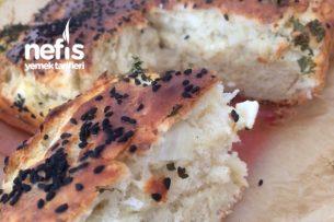 Yoğrulmayan Peynirli Pamuk Gibi Çörek Tarifi