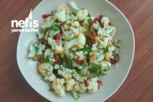 Karnabahar Salatası Yapımı Tarifi