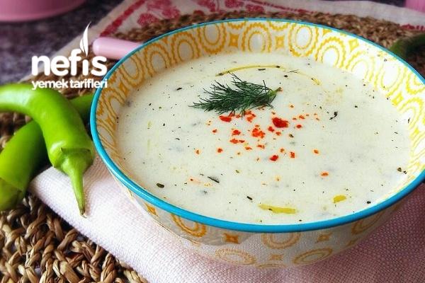 Nefis Yoğurt Çorbası (Harika Lezzet) Tarifi