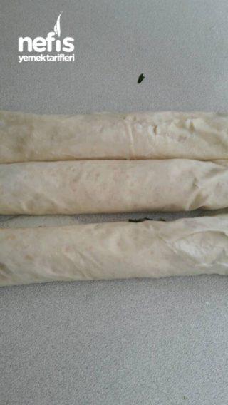 Pratik Rulo Ispanaklı Börek