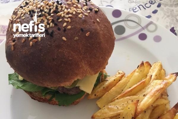 Sağlıklı Hamburger Menü