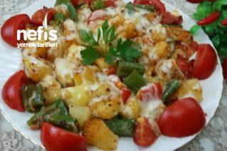 Tereyağlı Haşlanmış Patatesli Biberli Nefis Kahvaltılık Tarifi