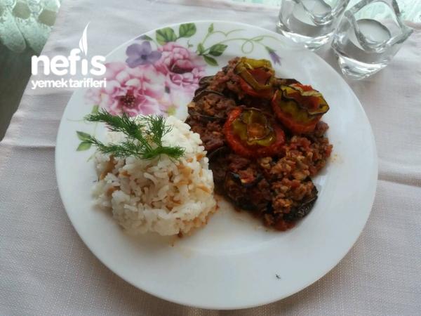 Patlıcan Musakka (kızartmadan Fırında)