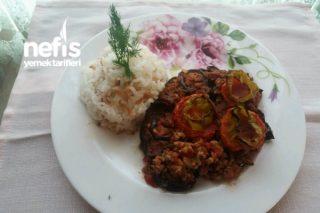 Patlıcan Musakka  (Kızartmadan Fırında) Tarifi
