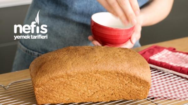 Tam Buğday Unundan Tost Ekmeği Tarifi