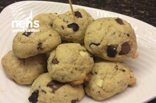 3 Çikolatalı Cookies Tarifi