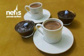 Çikolatalı Puding (Az Malzemeli-Sağlıklı) Tarifi