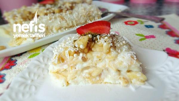10 Dakika Pastası (Muzlu/Mısırgevrekli)
