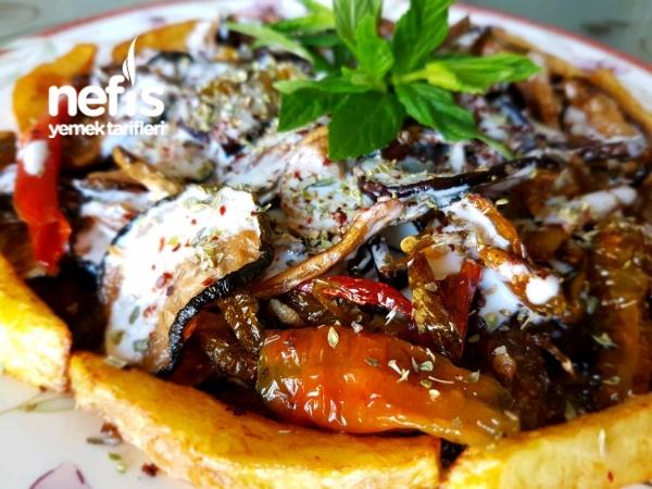 Kuru Patlıcan, Kabak ve Biber Kızartması
