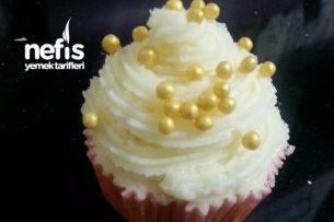 American Kremalı Cupcake (3 Gün Bozulmuyor) Tarifi
