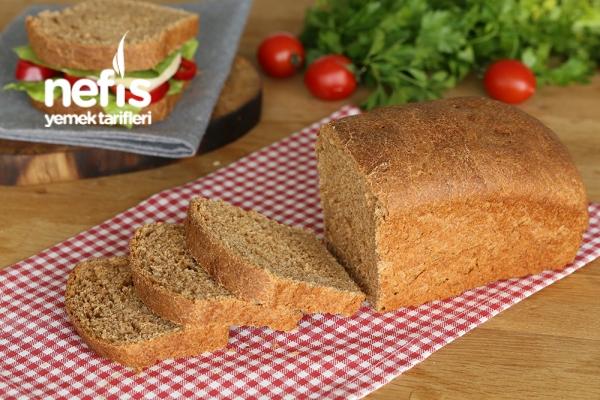 Tam Buğday Unundan Tost Ekmeği Yapımı Tarifi