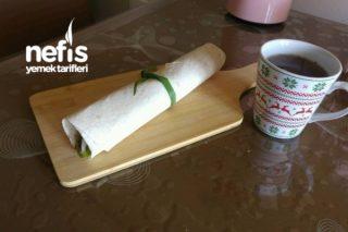 Kahvaltıya Enfes Yumurtalı Dürüm Tarifi