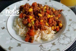 Kıymalı Garnitürlü Yemek Tarifi