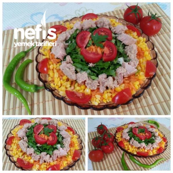 Nefis Ton Balıklı Diyet Salata