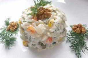 Şahane Erişte Salatası Tarifi