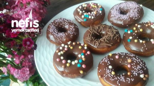 Tam Tadında Çikolatalı Donut