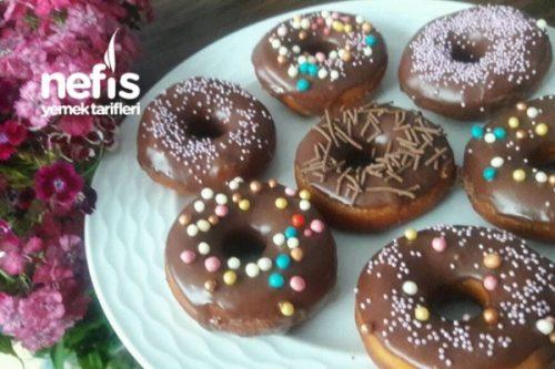 Tam Tadında Çikolatalı Donut Tarifi