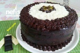 Duble Çikolatalı Muhteşem Doğum Günü Pastası Tarifi