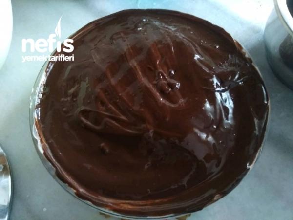 İslak Kek Pastası ( Muzlu)