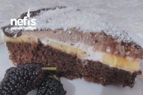 Islak Kek Pastası ( Muzlu) Tarifi
