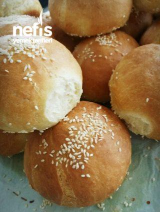 Pamuk Hamburger Ekmeği (ev Usulü)