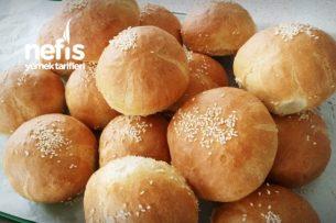 Pamuk Hamburger Ekmeği (Ev Usulü) Tarifi