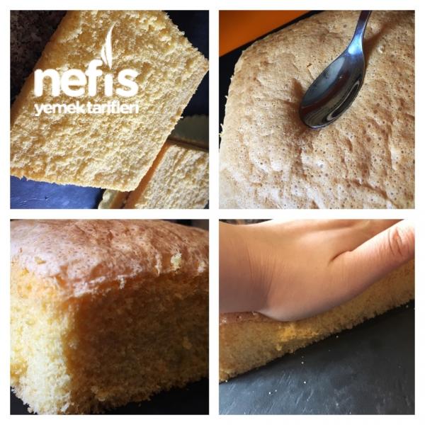 Süper Çilekli Neşeli Pasta