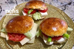 Yoğrulmayan Hamurla Sandviç Yapımı Tarifi