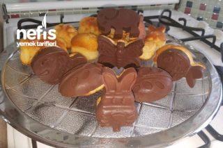 Çikolata Kaplı Kekler Tarifi