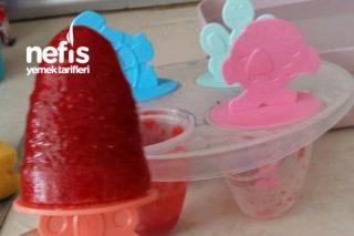 Evde Çilekli Dondurma Tarifi