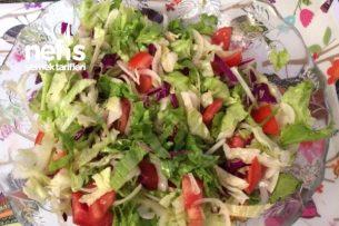 Bol Yeşillikle Salata Tarifi