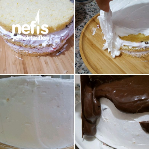 Harika Bol Çikolatalı Pasta Çikolata Aşkına (aşama Aşama)