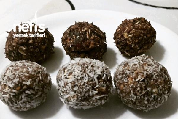 Hurmalı Kakaolu Diyet Toplar