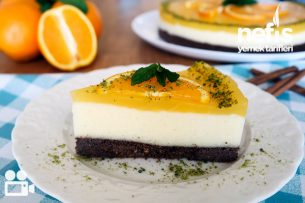 Portakal Soslu İrmik Tatlısı (Videolu Detaylı Anlatım) Tarifi