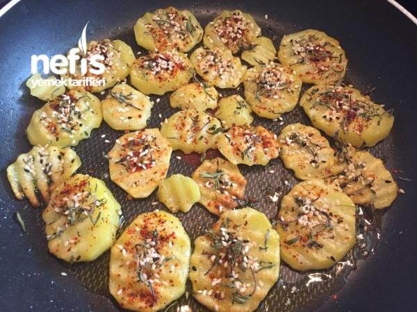 Tavada Şipşak Susamlı Patates