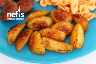 Fırında Elma Dilim Bebek Patates Tarifi