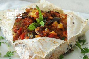 Pratik Tavuklu Kağıt Kebabı Tarifi