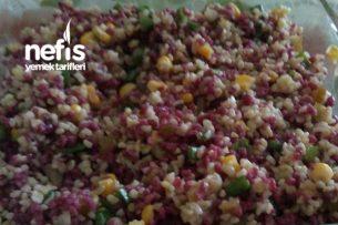Renkli Bulgur Salatası Tarifi