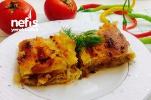 Nefis Patlıcanlı Arnavut Böreği (El Açması) Tarifi