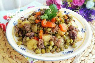 Poşette Etli Sebze Kebabı (Lokanta Usulü ) Tarifi