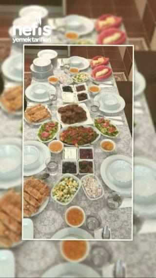 annemin iftar menüsü