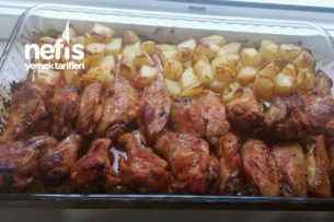 Fırında Kanat Patates Tarifi