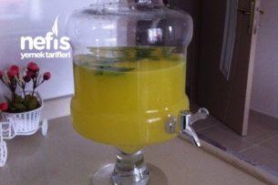 İftarlık Ve Sahurluk Susatmayan Limonata Tarifi